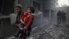 Syria war: Death toll mounts after new raids on Eastern Ghouta 7 February 2018 Related Topics Syrian civil war Image copyright Reuters Image caption Twelve children were reportedly among those. Syria Crisis, Human Rights Council, Syrian Civil War, War Image, French President, Emmanuel Macron, Image Caption, Foreign Policy, Syria