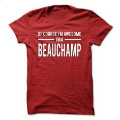 Team Beauchamp - Limited Edition - #cute gift #cool hoodie