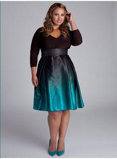 Drew Plus Size Dress - Intro to Fall by IGIGI