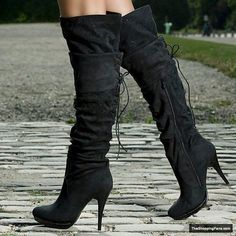 #booties #boots #clothing #heels #shoes #stylish #trend #trendy #Shoes, Heels and Boots #fashion #style #shopping trendy black boots - Fashion for Women - http://theshoppingfans.com/trendy-black-boots