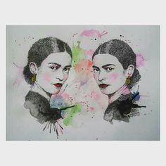 Pareja de ases. Frida by Angelica Ch.