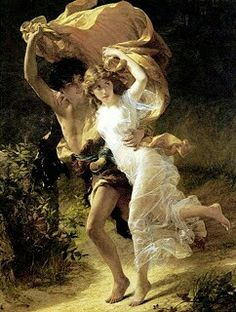 La tormenta (1880) Pierre Auguste Cot