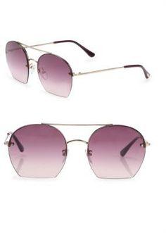 Tom Ford Antonia Round Sunglasses $395 https://api.shopstyle.com/action/apiVisitRetailer?id=630323469&pid=uid841-37799971-81