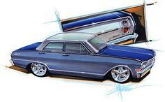 Chip Foose automotive design, custom cars, art and the Overhaulin' television show. Harley Davidson, Audi Tt, Baggers, Chip Foose Cars, Ford Gt, Maserati, Car Life Hacks, Peugeot, Cool Car Drawings