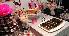 Disco Birthday Party Ideas | Photo 1 of 10 | Catch My Party