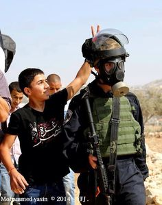 REAL HERO'S of palestine may Allah bless my brothers and sister's.