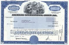American International Group, Inc. - AIG Insurance - Largest Quarterly Loss in Corporate History