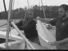 ▶ How to Rig a Club 420 Sailboat - YouTube