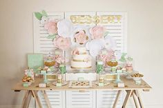 How To: Style a Dessert Table // www.modernwedding.com.au