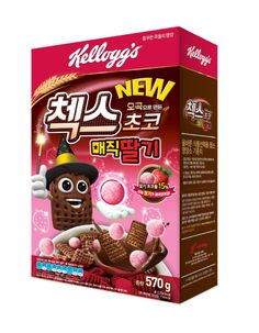 Kellogg's introduces new chocolate-strawberry cereal