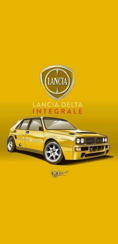 Bmw Sports Car, Car Animation, Move Car, Mechanical Art, Lancia Delta, Car Posters, Car Drawings, Car Sketch, Automotive Art