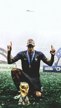 'Pogba' Poster by Slambss Paul Pogba, Antoine Griezmann, World Cup 2018, Fifa World Cup, Lionel Messi, Pogba Wallpapers, Pogba France, Pogba Dab, Football Art