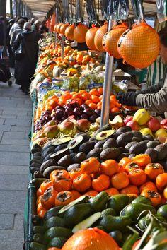 Market Day in Le Marais of Paris, France. http://www.farmersmarketonline.com/fm/France.html
