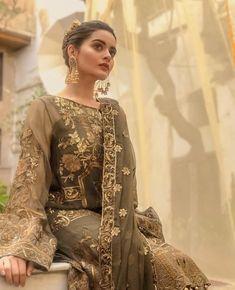 Image may contain: 1 person Shadi Dresses, Eid Dresses, Pakistani Dresses, Bridal Dresses, Fashion Dresses, Women's Fashion, Beautiful Dresses For Women, Beautiful Hijab, Beautiful Ladies