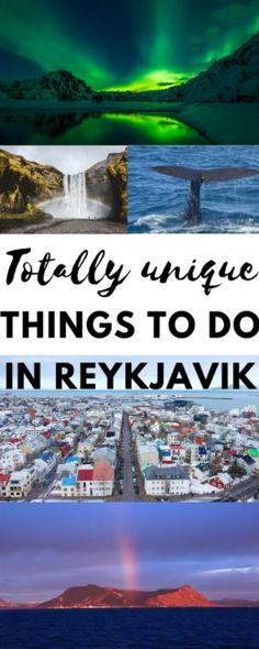 Unique Things To Do in Reykjavik Iceland