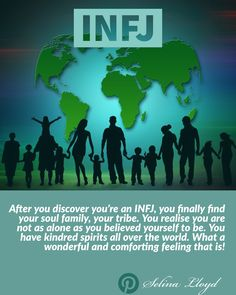 INFJ?  You're not alone!