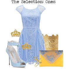 The Selection: Ones by charlizard on Polyvore featuring polyvore fashion style Forever New Sophia Webster Black & Brown London ELYONA Sugar Bean Jewelry Emily Elizabeth Jewelry theselection harperteen ones yabooks