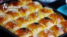 Milky Donut Recipe, How To – Pastry Donut Recipes, Cooking Recipes, Turkish Recipes, Ethnic Recipes, Homemade Beauty Products, Pretzel Bites, Hot Dog Buns, Donuts, Sushi