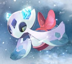 Pokemon December 2016 challenge 18/31 My favourite ice type Pokemon is Froslass.