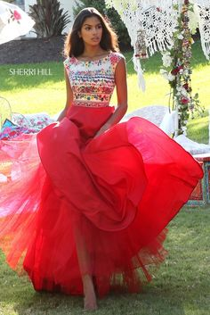 Vintage Mexican style quince dress