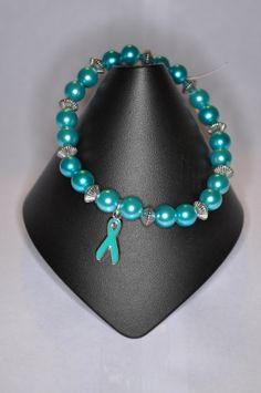 Ovarian Cancer Awareness Bracelet