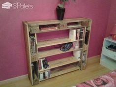 Bibliothèque / Pallet Bookshelf Pallet Bookcases & Pallet Bookshelves