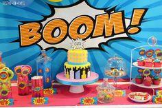 5 fiestas infantiles de superhéroes Las fiestas infantiles de superhéroes están de moda. Te traemos inspiración para preparar fiestas temáticas de superhéroes y hacer un cumpleaños original.