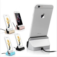 Charger Dock Stand Station For Apple iPhone SE 5 5S 5C 6 6S Plus Charging Dock Lazyman Bracket Cradle Charging Sync Dock   X2 #clothing,#shoes,#jewelry,#women,#men,#hats,#watches,#belts,#fashion,#style
