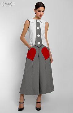 Pintel Store — MAIS — designer women overall in cotton (Italy)