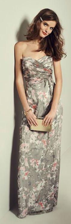 beautiful #grey silk chiffon gown http://rstyle.me/n/kbeuvr9te      jaglady