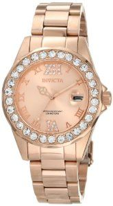 Invicta Women's 15253 Pro Diver Rose Gold Dial Stainless Steel Watch by Invicta - See more at: http://watchconsideration.com/watches/womens-watches/invicta-women39s-15253-pro-diver-rose-gold-dial-stainless-steel-watch-com/#sthash.zgqx312V.dpuf