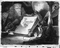 Deja View: Pinocchio Art