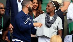 Drake kisses Serena Williams after her NYFW exhibition (See Photos)