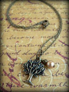 Oak Tree necklace