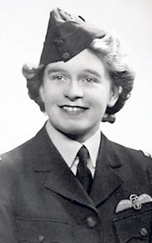 Mary Wilkins Ellis flew planes during WWII for the Air Transport Auxiliary for women pilots. During the war she single-handedly delivered 76 types of aircraft, including about 400 Spitfires. She found her way using a map and a compass. The ATA delivered 308,567 aircraft during the war; Mary's own total was in the region of 1,000 planes ~