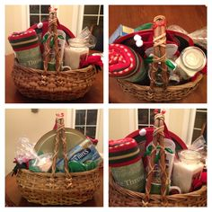 30 Christmas Basket Ideas Christmas Baskets Christmas Basket