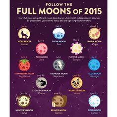 follow the full moons yourself ~ #Padgram