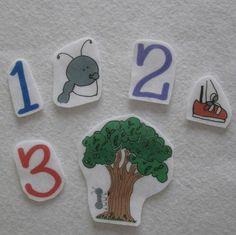 Ants Go Marching Flannel Board Felt Story by risingmoonadventures, $10.00