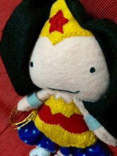 Wonder Woman Plush Doll by UmbeagleArt on Etsy