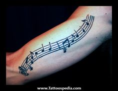 Pin by maieru ovidiu on tattoos sheet music tattoo, music tattoossheet musi Music Staff Tattoo, Sheet Music Tattoo, Music Tattoos, New Tattoos, Tattoos For Guys, Cool Tattoos, Tatoos, Beautiful Tattoos, Trendy Tattoos