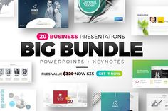 Business Presentation Big Bundle Templates **This Bundle includes 20 Business PowerPoint Keynote templates**Creative and Professional Busines by PixWork Business Presentation Templates, Corporate Presentation, Presentation Design Template, Presentation Slides, Design Templates, Creative Powerpoint Presentations, Powerpoint Themes, Marketing Topics, Site Website