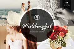 Weddingful Photoshop Actions by RockShutter on @creativework247