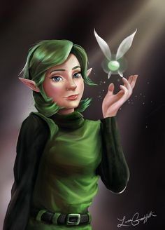 Saria by Tetra-Triforce.deviantart.com on @DeviantArt