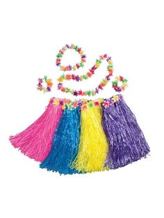 efa93a9f2 Check out Pink Nylon Hula Set - Girls Luau Halloween Costumes from Costume  Super Center Luau