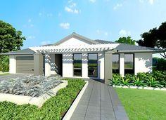Sekisui House Australia Home Designs: Sade 280 - Stylish Facade. Visit www.localbuilders.com.au/builders_south_australia.htm to find your ideal home design in South Australia