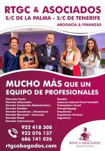 Diseño de Cartel para RTGC & ASOCIADOS. Abogacía y Finanzas. Santa Cruz de La Palma y Santa Cruz de Tenerife #diseño #cartel #publicidad #lapalma #tenerife #diseñopublicitario #ad #advertising #addesign