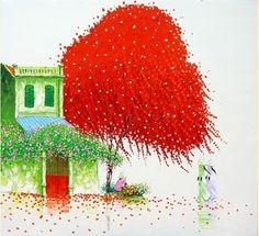 Phan Thu Trang http://www.galleryblossom.com/contemporary-paintings/46-98-thickbox/pink-spray.jpg