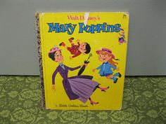 Mary Poppins Little Golden Book - A edition