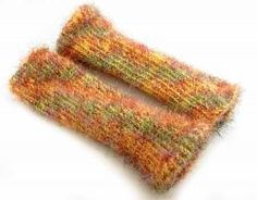 Furry Leg Warmers - Free Knifty Knitter Pattern for the 9.5 Inch Loom