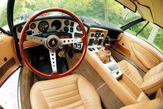 Lamborghini Espada interior.
